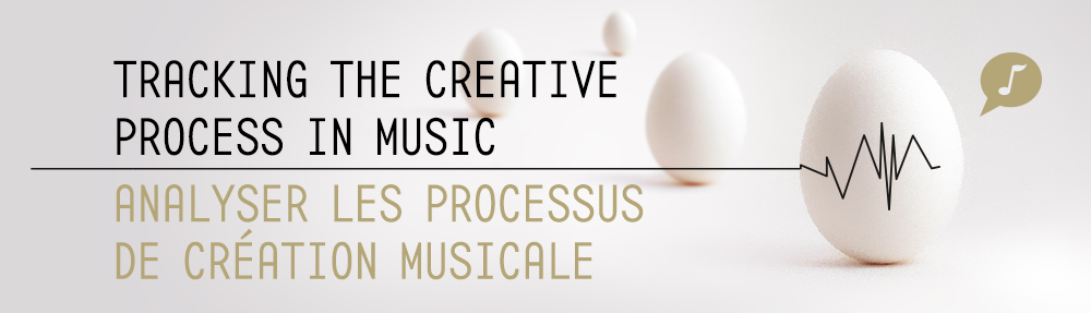 Tracking the Creative Process in Music